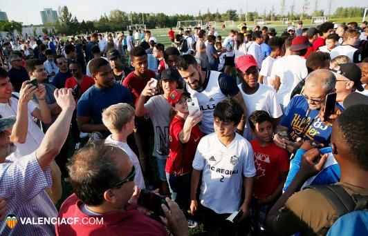 Valencia training photo