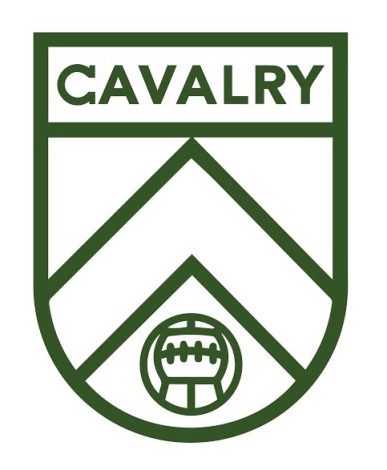 Cavalry FC logo tight
