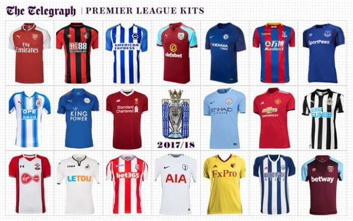 EPL kits 17-18