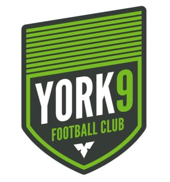 York 9 Football Club logo