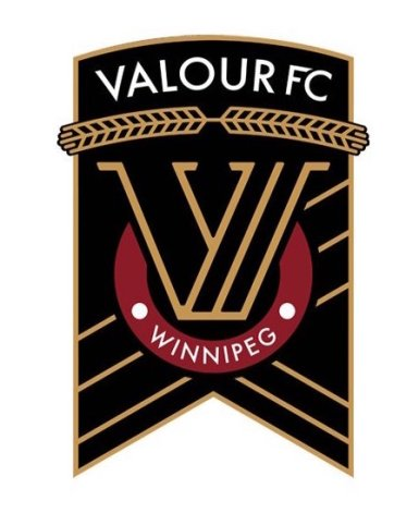 Valour FC logo - small vertical