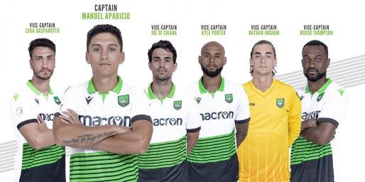 York 9 FC captains